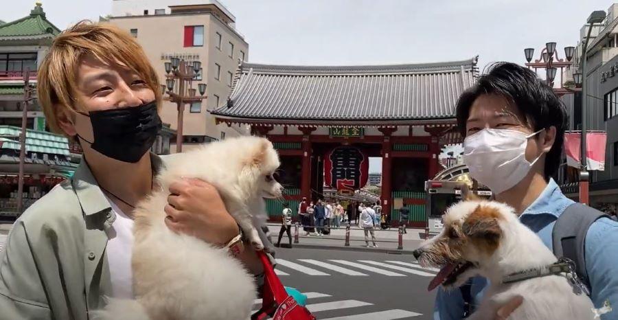 愛犬に優しい街、浅草